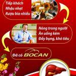 Chương trình ưu đãi mừng năm mới cùng Viên uống giải độc gan Bocan